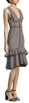 Tome Gingham Plaid Dress