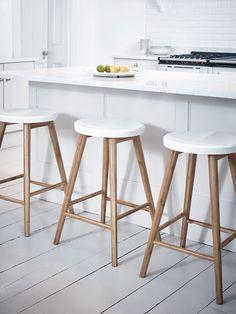 NEW Aalto Bar Stool - White