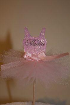 Set of 12 Mini Ballerina Tutu Dancer Party by PoshMyParty on Etsy, $20.00