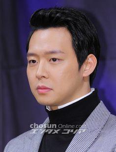 [PRESS PICS] 140226 Park Yoochun at 'Three Days' Press Conference – Part 3   JYJ3
