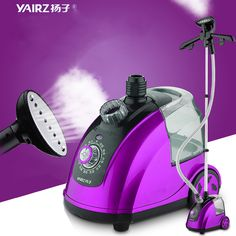 Household Garment Steamer Handheld clothes Electric iron wrinkle relaxing portable Steamer 1800W free shipping to Russia