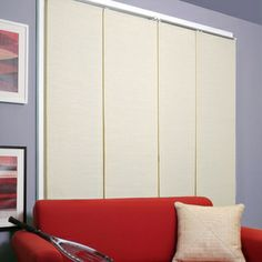 Cordless Panel System French Primrose | Overstock.com Shopping - Great Deals on Blinds & Shades