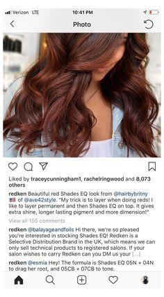 auburn hair color formula