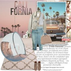 """California here we come"" by punnky on Polyvore #PolyvoreMeetup"