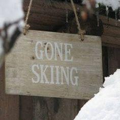 Stockholm Vitt - Interior Design: Gone Skiing!