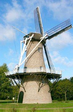 #Windmill - Flour mill, De Juffer, Gasselternijveen, the #Netherlands. http://dennisharper.lnf.com/