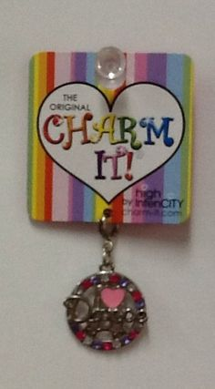 I Love Dance Charm: $4.99.  For more information or to check availability, call or email Polka Dots.916-791-9070. polkadotsproshop@gmail.com