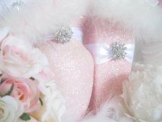 Wedding Centerpiece Wedding Decorations Pink Shabby par KPGDesigns, $29.00