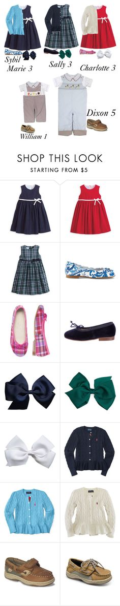 """Church: The Scotts"" by my-preppy-family ❤ liked on Polyvore featuring Dolce&Gabbana, Oscar de la Renta, Ralph Lauren, Sperry and Thescotts"