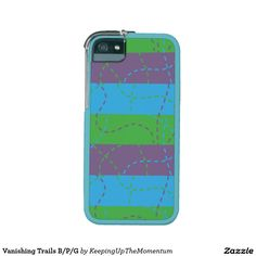 Vanishing Trails B/P/G Case For iPhone 5/5S