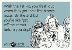 Haha! I would say something similar to this when I was pregnant with my 2nd child. It's funny how we moms already know. ;)