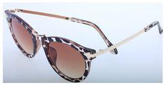 Amazon.com: TJazz 2016 Women's Retro Round Arrow Style Metal Frame Wayfarer Polarized Sunglasses (Floral, Purple): Clothing