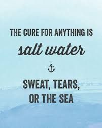 I never thought about life in this way - powerful, simple and rings true on so many levels.  water and salt - a medium of expression.