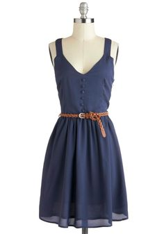A Close Racerback Dress - I love you, Modcloth
