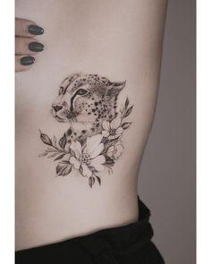 c28167bdb Fun little cheetah 🐈 Leopard Tattoos, Beautiful Tattoos, Cute Tattoos, Small  Tattoos,