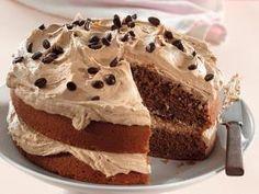 Lewer 1 dubbellaag-koek Bereiding: minute Gaarmaaktyd: minute KOEK 180 g margarien Coffee Dessert, Coffee Cake, Dessert Table, Kos, Ma Baker, Pudding Cake, Desert Recipes, Sweet Bread, Party Cakes