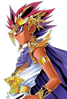 Is it time to duel yet?!  Yami Yugi / Atem from Yu-Gi-Oh!