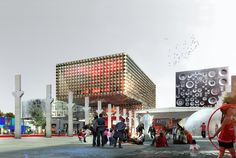 ROCKmagneten by MVRDV and COBE breaks ground in roskilde - designboom | architecture