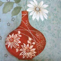 Tava-Studios-Brighten-my-Day-I-Fertig-Bild-30x30-Wandbild-Blumen