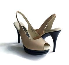 Follow me on Pinterest! https://www.pinterest.com/ilenebergshoes/  The heels with comfort technology! Stacey: Nude #comfyheels
