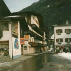 On the left side you can see the shop of my aunt ; Aunt, Austria, Spaces, Shop, Travel, Outdoor, Voyage, Outdoors, Viajes