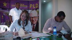 VÍDEO: Mensaje de Lethis Vásquez durante el proceso de inscripción de candidatura