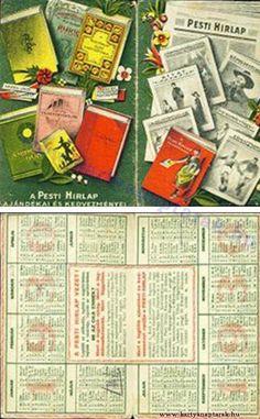 1930 - 1930_0004 - Régi magyar kártyanaptárak