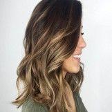 Beautiful Hair Color Combination Medium Length Trends 2017