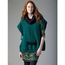 Lion's Pride® Woolspun® Knit Pullover (Level 1) on Michael's website under projects for yarn and needle crafts.