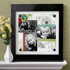 Sure, Moms like flowers and candy. But why not go for a gift that will hang on her wall for her to see every single day and think of you?  Click the frame for the directions to make this.  Then go to my webpage and order the material.  www.mycmsite.com/sites/marymeissner