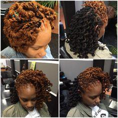 "544 Likes, 17 Comments - Sherelle Holder (@hairbyrelle) on Instagram: ""Recap of 2015 , pipe cleaner curls #hairbyrelle #Karibbeankinks #teamnatural #teamnatural_…"""