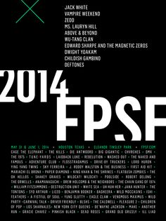Free Press Summer Festival 2014 Lineup, Tickets | May 31 - June 1 | Houston, Texas