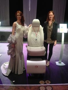 Lear Corp and their next generation of automotive seating. Reveal was Oct 2013 #LearCorp #DFN #FAshion #Automotive