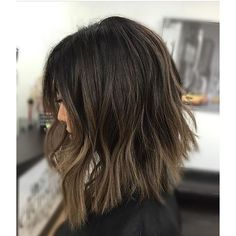 Long Wavy Ash-Brown Balayage - 20 Light Brown Hair Color Ideas for Your New Look - The Trending Hairstyle Ash Brown Balayage, Brown Hair With Highlights, Brown Hair Colors, Balayage Highlights, Long Bob Bayalage Brown, Hair Colour, Balayage Hair Dark Short, Balayage Lob, Medium Hair Styles