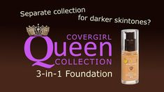 Covergirl Queen Collection 3in1 Foundation | All Day Wear Test | PalsLiv...