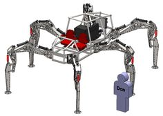 Stompy: 4,000-pound, 6-legged rideable robot on the way, watch out for doctor loveless!