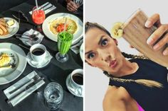 Weekendowy jadłospis Ewy Chodakowskiej Health Diet, Food And Drink, Menu, Cooking, Healthy, Ethnic Recipes, Yoga, Menu Board Design, Kitchen