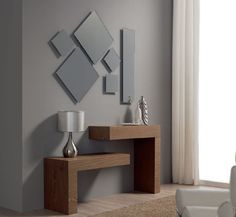 modern console table design ideas with mirror 2019 Decor, Furniture Design, Furniture Decor, Interior Deco, Home Furniture, Entryway Decor, Home Decor, House Interior, Home Decor Furniture