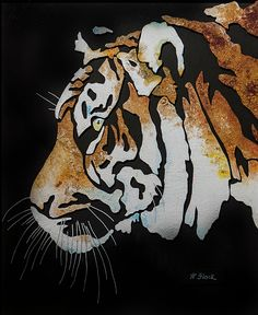 Animal Throws, Tiger Painting, Lots Of Cats, My Friend, Friends, Animal Paintings, Farm Animals, Art For Sale, Panther