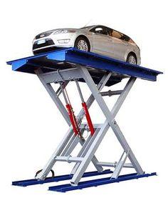 Hydraulic Scissor Car Lift Garage Car Lift, Garage Tools, Garage House, Lift Table, Parking Design, Drafting Desk, Stationary, House Plans, Walkways