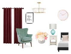 sleeptime by alina0812 on Polyvore featuring interior, interiors, interior design, дом, home decor, interior decorating, Jamie Young and Hera