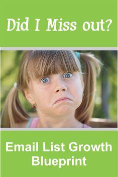 Email List Growth Blueprint 1