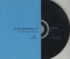 For Sale - Mansun Six - Jewel Case UK Promo  CD album (CDLP) - See this and 250,000 other rare & vintage vinyl records, singles, LPs & CDs at http://eil.com