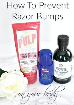 How To Prevent Razor Bumps On Your Body
