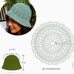 Hats Archives - Beautiful Crochet Patterns and Knitting Patterns Crochet Adult Hat, Bonnet Crochet, Crochet Kids Hats, Crochet Cap, Crochet Collar, Crochet Beanie, Free Crochet, Knitted Hats, Sombrero A Crochet