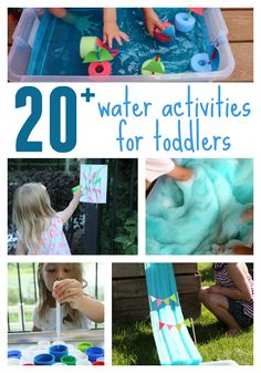 , Outdoor Water Activities for Toddlers , Toddler Approved!: Outdoor Water Activities for Toddlers. Outdoor Activities For Toddlers, Outside Activities, Games For Toddlers, Sensory Activities, Infant Activities, Summer Activities, Preschool Activities, Play Activity, Sensory Bins
