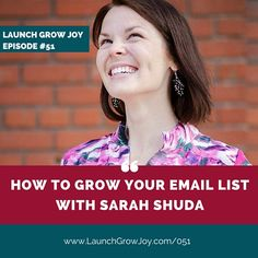 Do you want to know how to grow your email list? Or are you wondering if you even need an email list? Every business in every industry benefits from having people to email, and here to tell us why is Sarah Shuda of Open Merit.