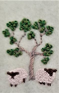 Embroidery Patterns, Hand Embroidery, Crochet Bedspread, Pin Cushions, Shag Rug, Sheep, Crochet Necklace, Create, Fun