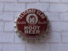 Vintage Cork BEER SODA Bottle Crown Cap ~*~ CLICQUOT CLUB Beverages Root Beer