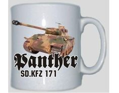 Tasse Panther SD.KFZ 171 / mehr Infos auf: www.Guntia-Militaria-Shop.de